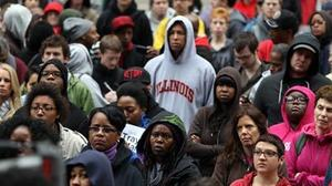 Protest calls for Trayvon Martin case prosecution