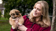"<span style=""font-size: small;"">When Gilmer Park veterinary technician Jennifer Bisig brought a 13-week-old blind Shih Tzu puppy home, her family decided to rename the little dog.</span>"