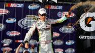 Joey Logano wins Nationwide race at Fontana