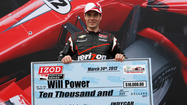 "ST. PETERSBURG, Fla. -- Will Power says claiming the pole for the eighth Honda Grand Prix of St. Petersburg is a ""good start,"" which he hopes six months down the road will lead to a championship finish."