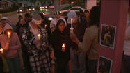 Vigil held for Goshen shooting victim