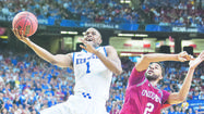 "ATLANTA — Kentucky freshman Michael Kidd-Gilchrist says he can ""taste the Final Four."" However, he also emphasized that does not mean No. 1 Kentucky is overlooking today's game with Baylor in the South Regional final that will determine which team advances to New Orleans."