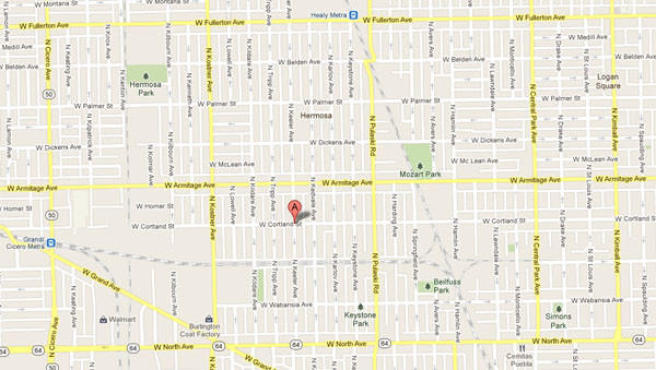 Approximate location where a man or boy was shot and critically injured this morning.