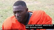 "<span style=""font-size: small;""><strong>Levonte ""Kermit"" Whitfield</strong> has decided to open up his recruiting options, so the Orlando Jones receiver has decommitted from the University of Miami to ""see what else is out there,"" he said.</span>"