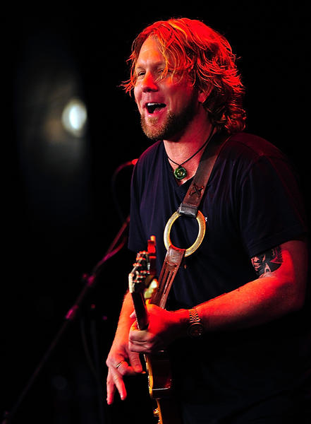 Devon Allman rocks The Maryland Theatre Sunday afternoon with his band, Honeytribe.