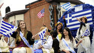Greek independence parade