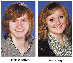 Thomas Carter and Ann Savage