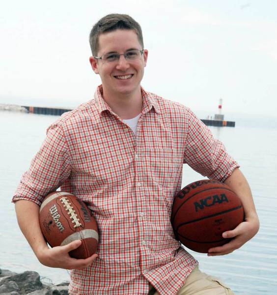 Petoskey native Andrew Keck is in his first year as an event production assistant at ESPN. Kecks next big assignment will take him to England for the British Open in July.
