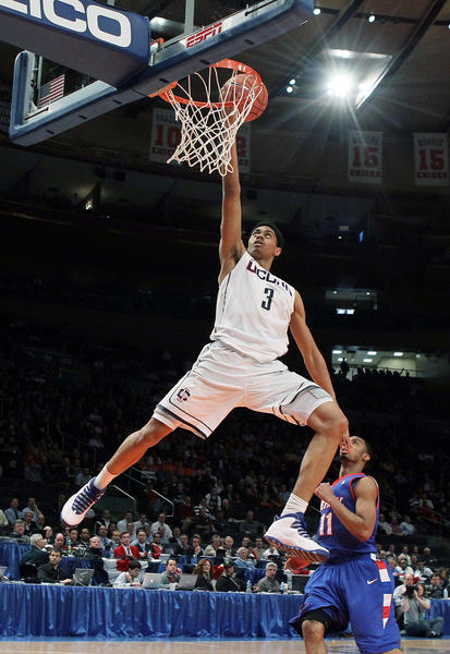 "UConn's lead scorer, Jeremy Lamb has been ""weighing his options""... to his return at UConn, or to enter the NBA Draft.  People close to Lamb have said he will make the call soon."