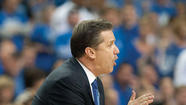 "ATLANTA — If John Calipari has his way, all the ""drama"" about Saturday's Kentucky-Louisville Final Four matchup will be focused on him and his staff, not Kentucky's players."