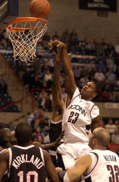 After playing for UConn for three seasons, White transferred to Purdue for the 05'-06' season, later turning professional and playing NBA D-League for Antranik Beirut, Lebanon.