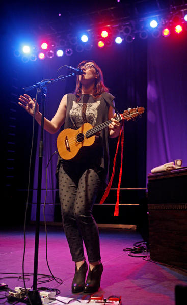 Ingrid Michaelson performs at Memorial Hall at Muhlenberg College in Allentown on March 25.