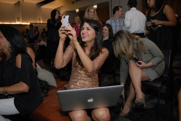 Corri McFadden at her 'House of Consignment' premiere party at The James Hotel March 21, 2012.