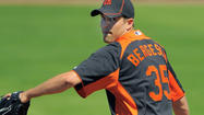 BRADENTON, Fla. – The Orioles roster thinned out a little Monday, with several players being sent out of camp including right-hander Brad Bergesen, who pitched in 34 games with the Orioles last year.