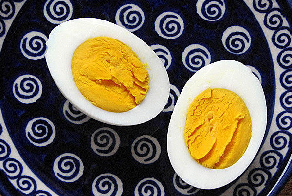 Roasted or hard-boiled egg to symbolize the sacrifice made in biblical times and the egg is a sign of spring and rebirth.
