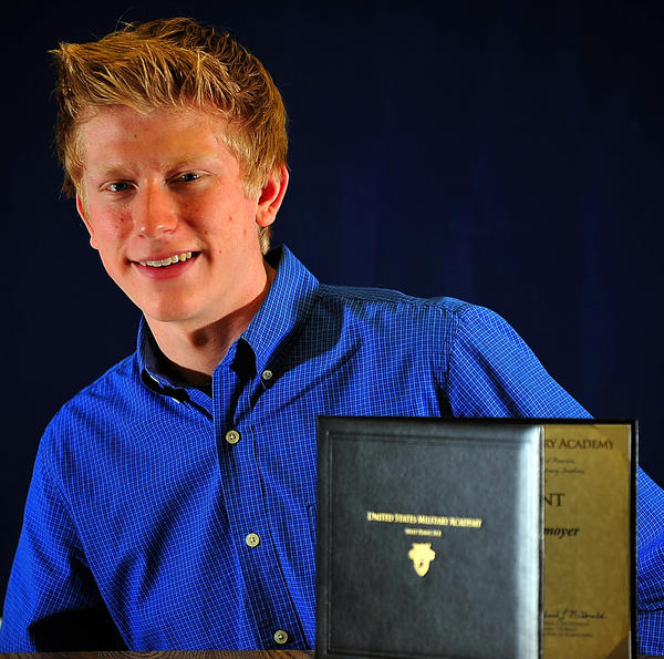 Heritage Academy senior Michael Donmoyer has earned an appointment to the U.S. Military Academy at West Point.