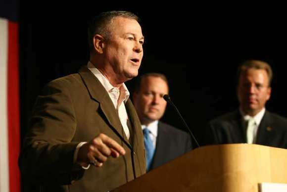 Rep. Dana Rohrabacher, shown in 2008, was among 248 members of the House of Representatives identified in a watchdog report last week. (Kent Treptow, Times Community News)