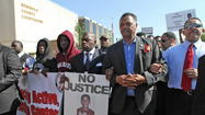 <b>Pictures: </b> Trayvon Martin rallies by Al Sharpton and other leaders