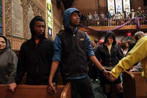 Churches around the nation, including the Middle Collegiate Church in Manhattan, amplified the cry for justice in the shooting death of 17-year-old Trayvon Martin.
