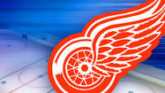 Tomas Holmstrom had two goals to pace a balanced offensive attack as the Detroit Red Wings routed the Columbus Blue Jackets, 7-2, on Monday at Joe LouisArena.