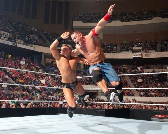 The Miz and John Cena