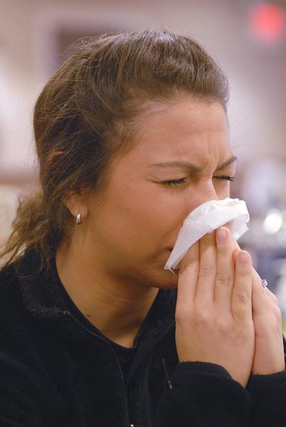 Due to an early spring, those who suffer from allergies may be sneezing and wheezing a bit early this year.