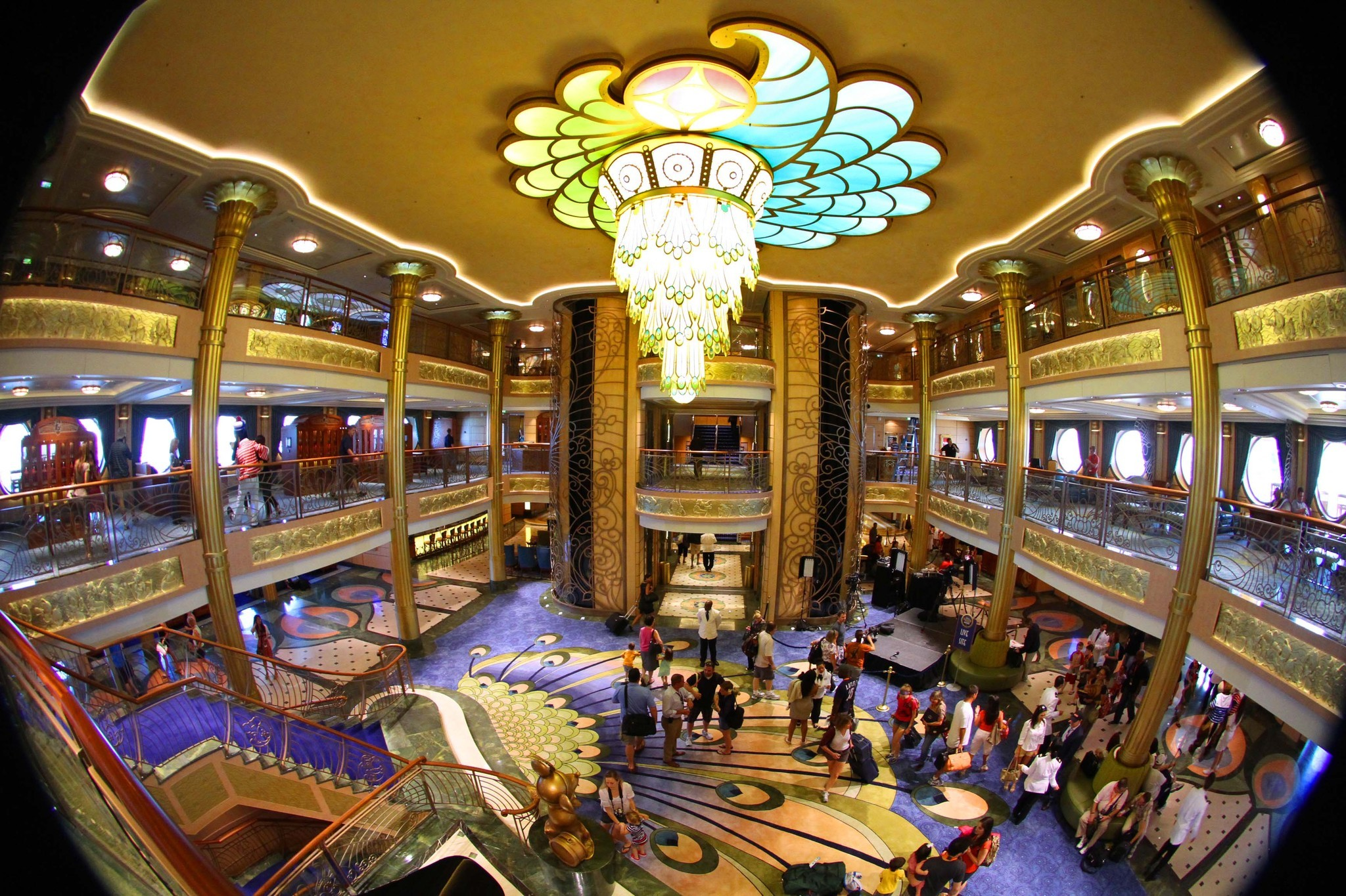 Pictures: New and soon-to-arrive cruise ships - Disney Fantasy inaugural cruise