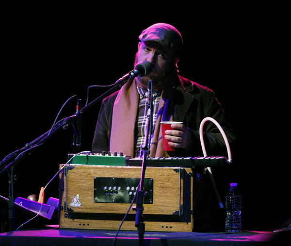 Stephin Merritt of Magnetic Fields performing at the Vic Theater in Chicago.