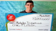 Man, 20, to use Hoosier Lottery winnings for college
