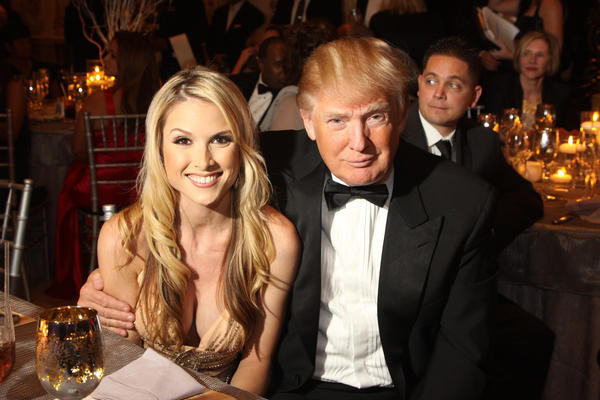 "Tara Conner, left, and Donald Trump at the seventh annual ""After Dark"" gala, which took place at the Mar-a-Lago Club and benefited addiction recovery at Caron Renaissance. The event featured comedian Richard Lewis and former NFL player Joe Theismann. To see more photos from Society Scene's Palm edition, visit www.Facebook.com/SocietyScene."