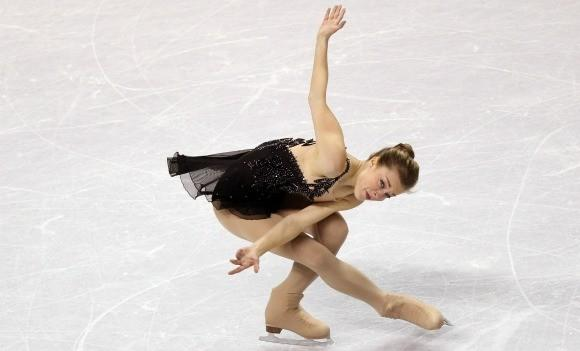 Ashley Wagner at the U.S. Championships