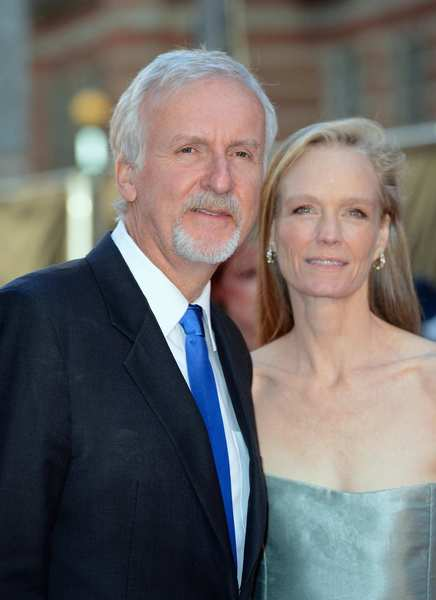 Director James Cameron and wife Suzy Amis Cameron.