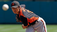 Wada struggles as Orioles' bats fall silent in 5-0 loss to Twins