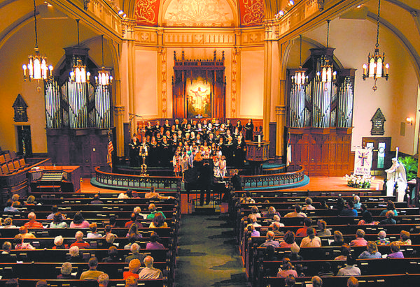 Hagerstown Choral Arts and the Barbara Ingram School for the Arts will perform Haydns Lord Nelson Mass Saturday, March 31, at Trinity Lutheran Church in Hagerstown.