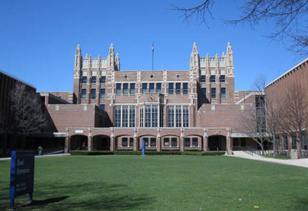 Evanston Township High School.