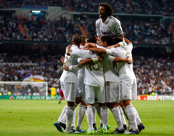 Real Madrid is built to win championships and loaded with marquee talent like Cristiano Ronaldo, Xabi Alonso, Mesut Ozil and Marcelo Viera.