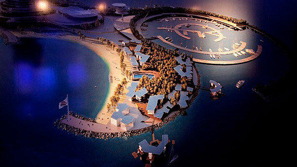 Real Madrid Resort Island in the United Arab Emirates.