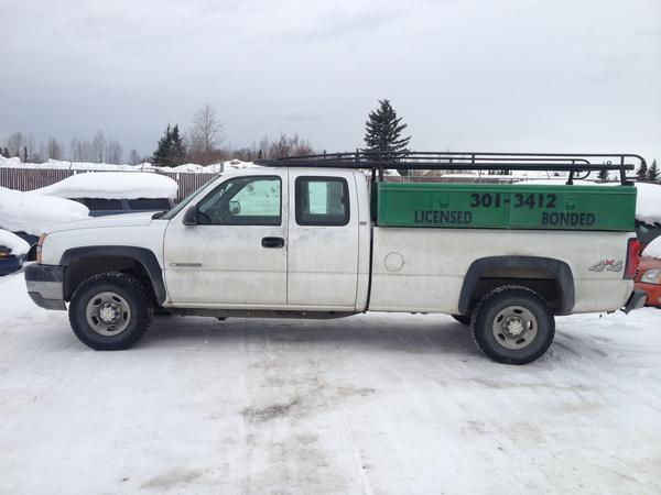 "Anchorage police released a new photo Tuesday afternoon of a white Chevrolet pickup truck driven by Israel Keyes, the ""person of interest"" in the Feb. 1 abduction of Samantha Koenig, shortly after he was arraigned on a federal fraud charge. Anyone with information on Koenigs disappearance, Keyes or his truck is asked to call 1-800-CALL-FBI (1-800-225-5324)."