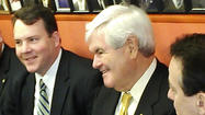 Alex Mooney lunches with Newt Gingrich