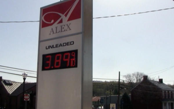 Alex Convenience Store in Boonsboro was tied for the most expensive station visited Tuesday with Your Country Store in Cearfoss.