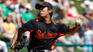 Orioles pitcher Tsuyoshi Wada emerged from the trainer's room Tuesday afternoon with his left arm heavily wrapped in ice from shoulder to elbow. The true damage, however, was to the 31-year-old left-hander's psyche, at least initially.
