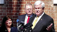 Gingrich in Annapolis