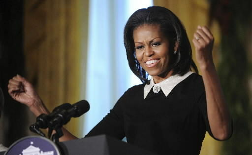 First Lady Michelle Obama will speak at Virginia Tech's  graduation ceremony May 11, 2012..