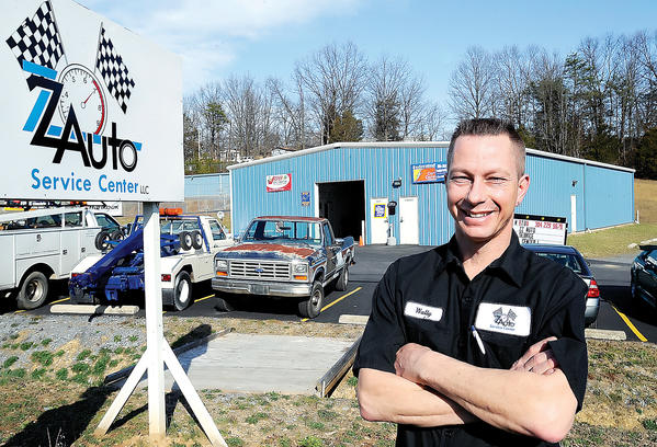 Wallace W. Parrish owns ZZ Auto Service Center LLC at 874 Cheshire Road in Bunker Hill, W.Va.