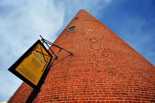 We don't know how much it would take for the city to part with the Shot Tower -- one of the historic landmarks officials would like to sell to raise money. But make them an offer they can't refuse. You could use it for extra storage -- for your tall stuff.