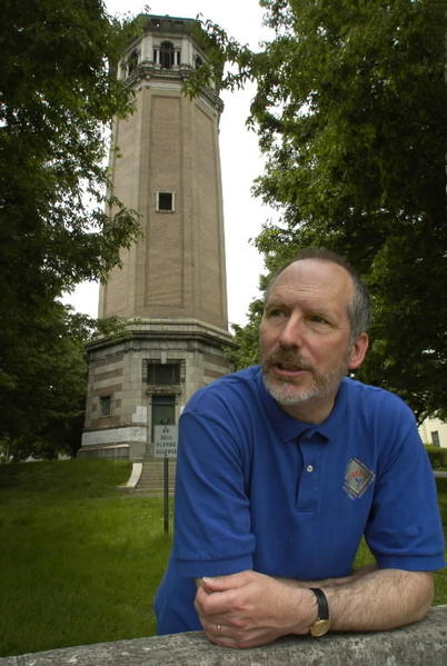 Crusaders in Roland Park have been fretting about their historic water tower for years now. Put an end to their misery and give them the $250,000 or so they need to restore it. Ask that they credit it you, sports arena style, by putting your name on it.