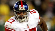 Well, that Brandon Jacobs to the Ravens' speculation didn't have much of a chance to heat up.