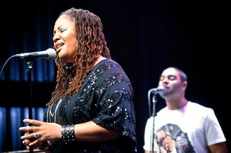 Lalah Hathaway will headline this year's Ella Fitzgerald Music Festival.