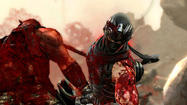 "Anyone type B-negative? ""Ninja Gaiden 3"" makes you crave a blood transfusion and a new take on the hack and slash series."