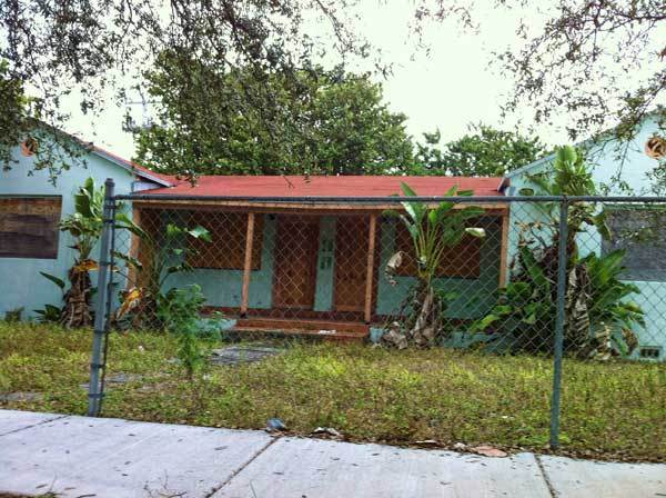 The house at 795 NW 58th St., Miami, was awarded to LaSalle Bank in December 2008 in a foreclosure auction. In July 2011, the judge threw out the title and said a short sale had to be completed in 60 days. In September 2011, the court dismissed the foreclosure suit at the bank's request. As of late April 2012, however, Miami-Dade County Property Appraiser records still showed it in the bank's hands. The discrepancy points to the difficulty local code enforcement officials have in identifying responsible owners.